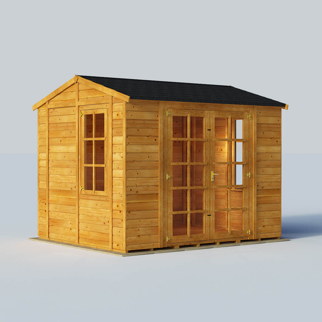 10x8 - Diplomat Summerhouse