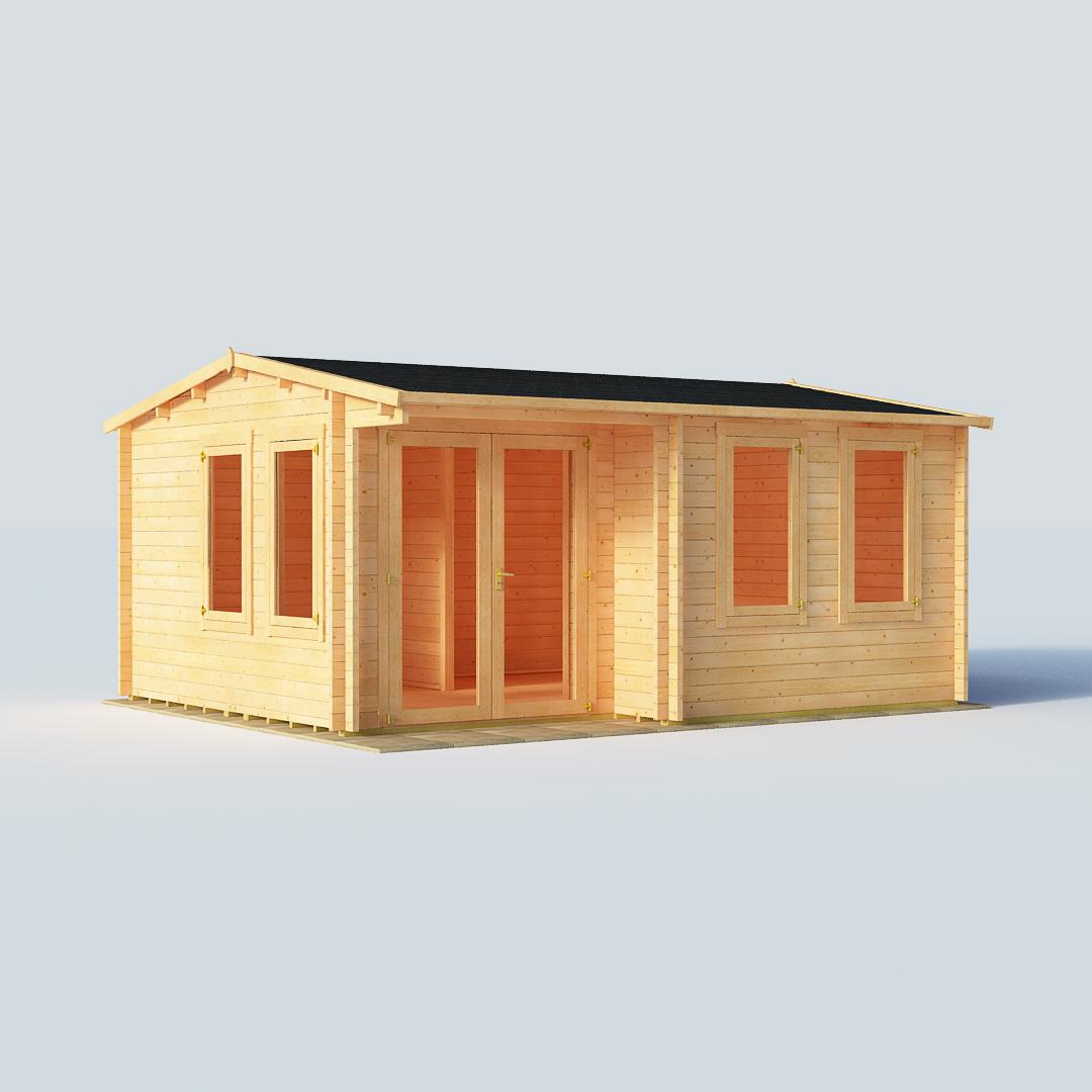 BillyOh Kent Garden Office W5.0m x D4.0m 44mm