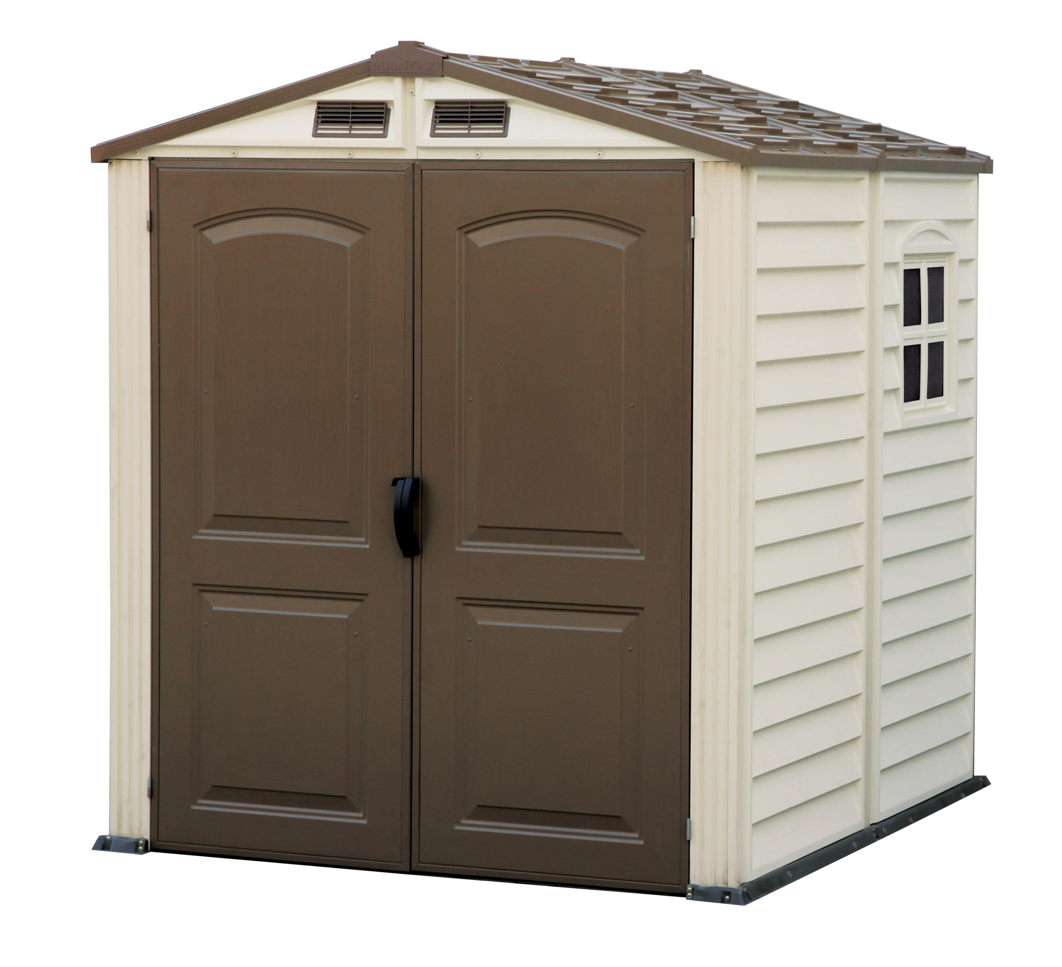 BillyOh Daily Apex Plastic Shed - Vinyl Clad Plastic Shed with floor