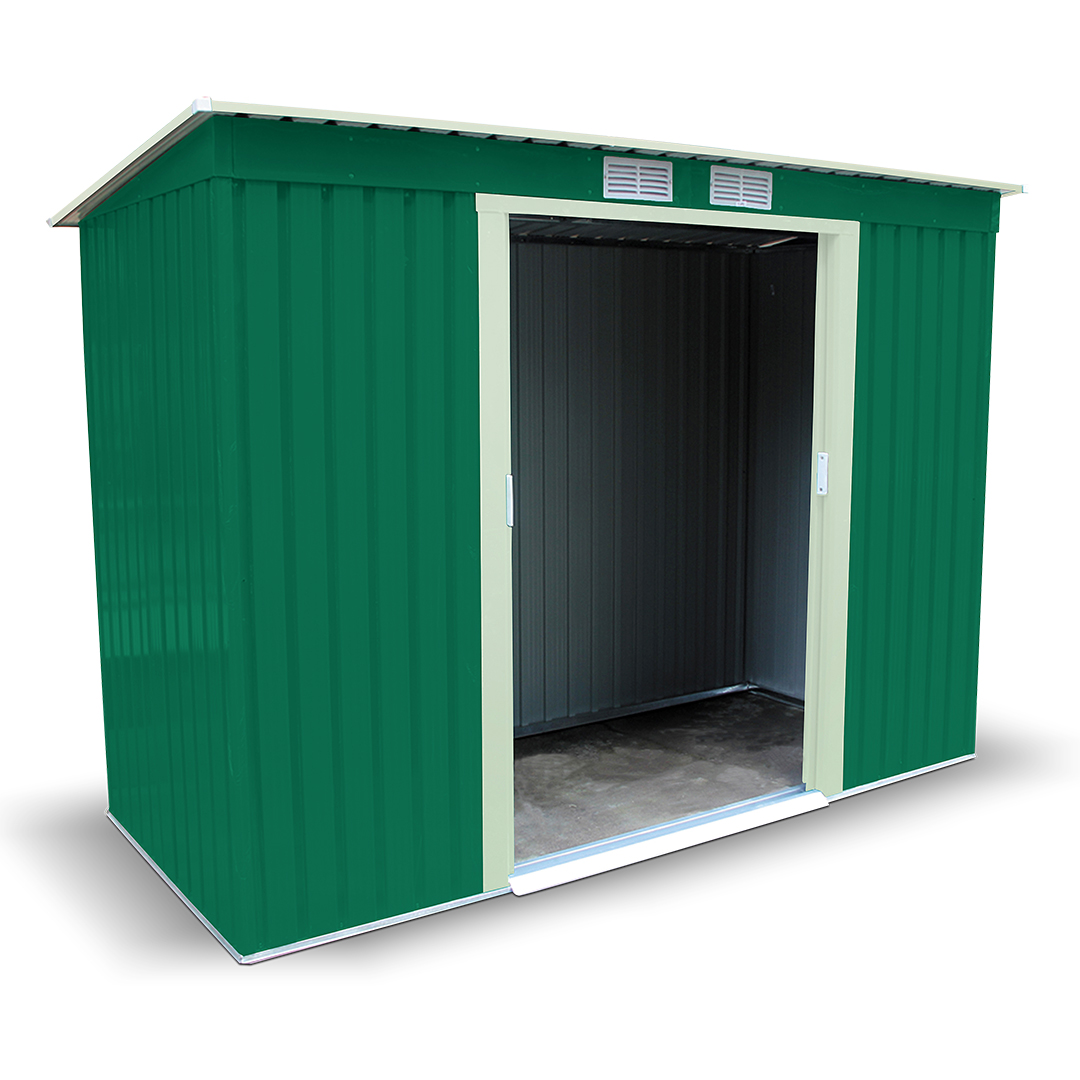 BillyOh Cargo 4 x 9 Pent Metal Shed