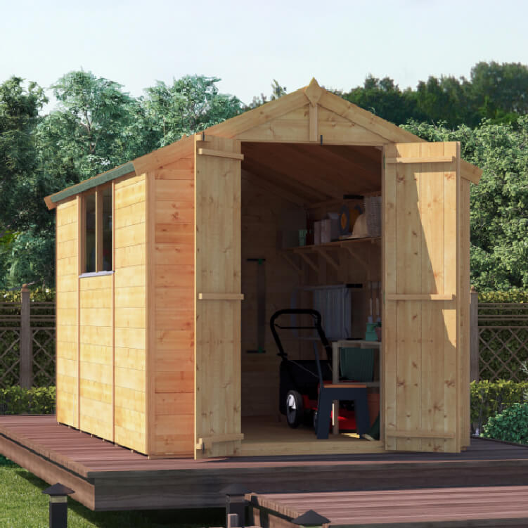 Image of 10x6 T&G Apex Windowed - BillyOh Master Garden Shed