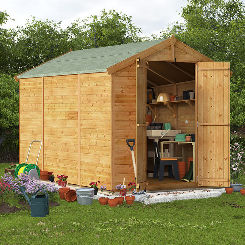 Image of 10x6 T&G Apex Windowless - BillyOh Master Garden Shed