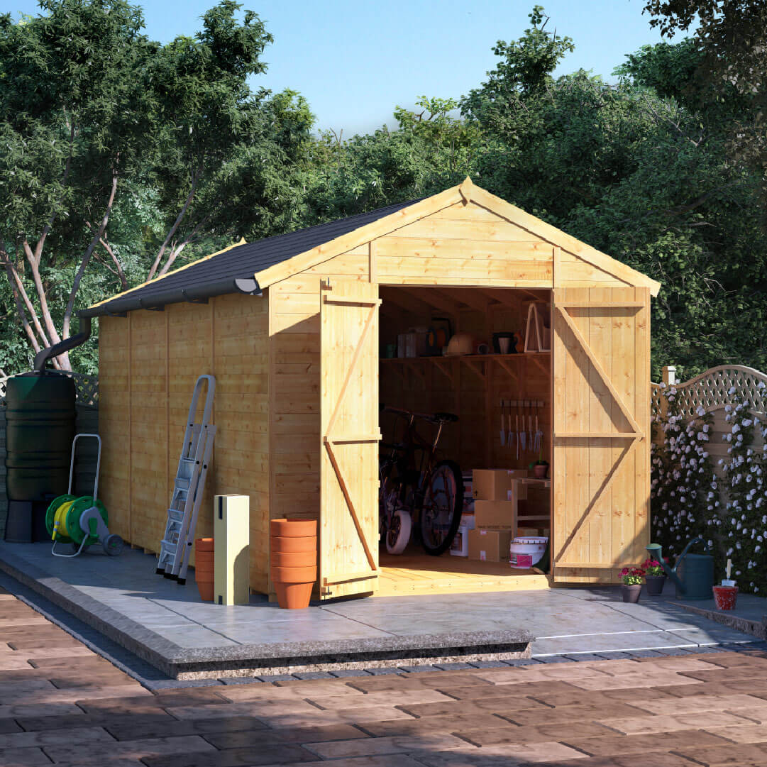 Buy cheap large shed compare sheds garden furniture for Big sheds for garden