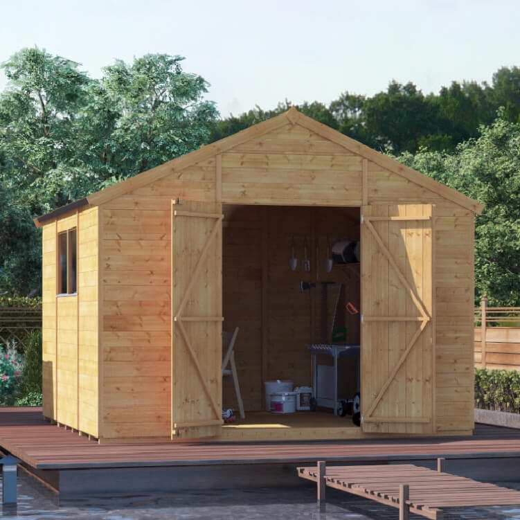 Image of 10x10 T&G Apex Windowed - BillyOh Expert Garden Shed