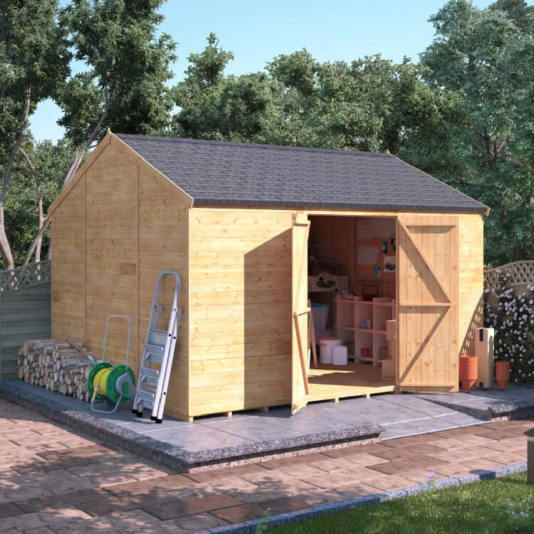 Buy cheap garden sheds compare painting decorating for Inexpensive sheds