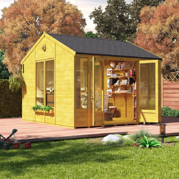 Garden Buildings Direct BillyOh Petra Tongue and Groove Reverse Apex Summerhouse