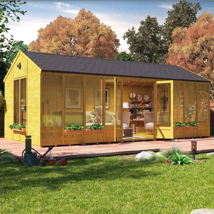 20x10 Summerhouse - BillyOh Petra Garden Summer houses for sale