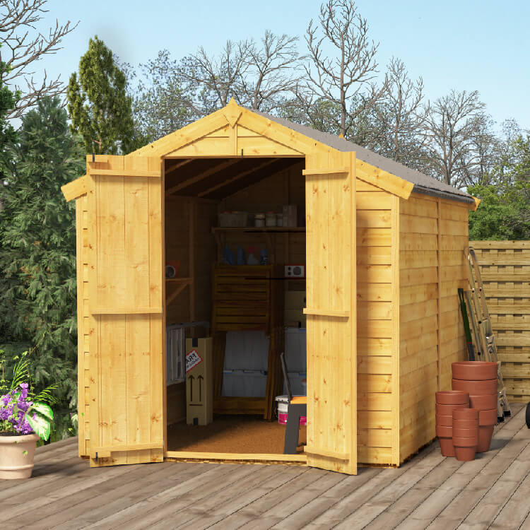 http://www.gardenbuildingsdirect.co.uk/images/products/18792/maingallery/8x6_keeper_overlap_windowless_apex_shedl01.jpg