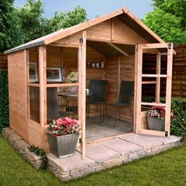 BillyOh 4000M Lucia Tongue and Groove Summerhouse - 7'x7'