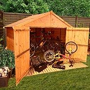 BillyOh 300 Extra Wide Tongue and Groove Bike Store Mini Shed