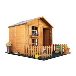 Mad Dash Peardrop Xtra Wooden Playhouse