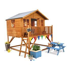 Mad Dash Lollipop Max Tower Wooden Playhouse