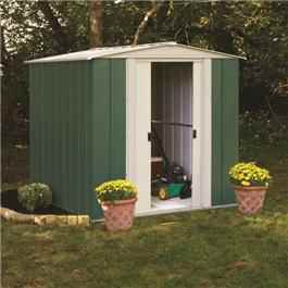 Arrow RMGA Apex 6' Fronted Metal Garden Sheds