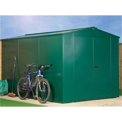 asgard gladiator plus metal sheds bike storage garden. Black Bedroom Furniture Sets. Home Design Ideas