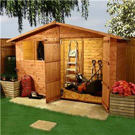 Wooden Shed Billyoh Park 'Gardener's Retreat' Apex 10' x 6'
