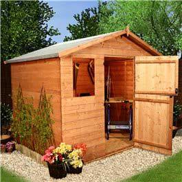 Wooden Shed Billyoh Park 'Stable Door' T and G Apex 8' x 6'