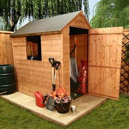 Traditional Economy TandG 5 x 3 Wooden Shed