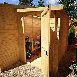 Log Cabin Billyoh Pathfinder 'Lean to' 7' x 5'
