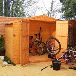 Garden Store Billyoh Big Bike Store 8' x 5' Wooden Storage