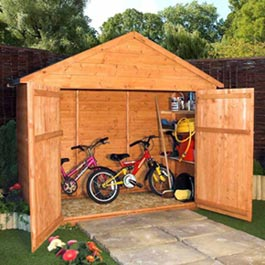 Garden Storage BillyOh Bike Store Wooden Storage