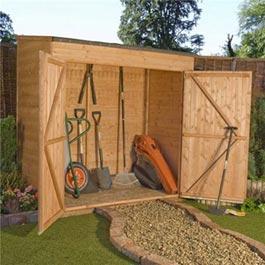 Garden Storage BillyOh Mega Store 6' x 3'