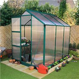 Greenhouse Billyoh Rosette Complete 8' x 6' Metal Greenhouse