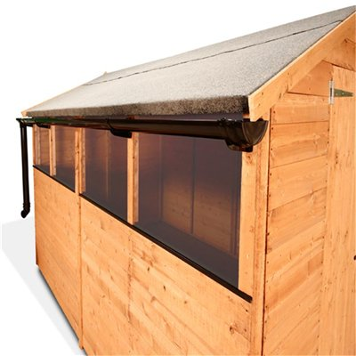 Plans For Building A Firewood Shed Garden Shed Guttering