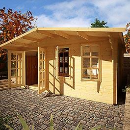 Log Cabin Billyoh Woodland Home Office
