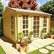 BillyOh 3.0 x 2.5m Pathfinder Huntsman Log Cabins