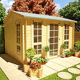 BillyOh Pathfinder 'Huntsman' Log Cabin 13'x11'