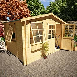 BillyOh Log Cabin Workshop 11'x9'