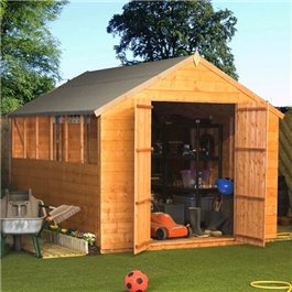 Garden Shed Billyoh Castle Tongue and Groove Apex 10' x 6' Wooden Shed