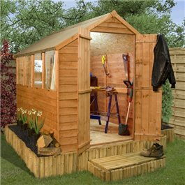 Wooden Shed Billyoh Classic Economy 10' x 6'