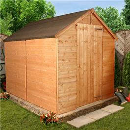 8 x 6 Classic Apex with Floor Wooden Shed