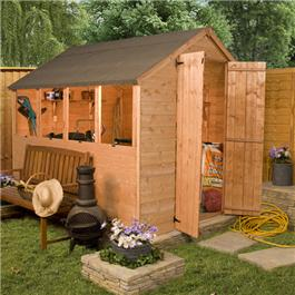 10 x 6 Pre-Assembly Deal Wooden Shed
