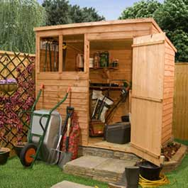 7' x 5' Billyoh Classic Overlap Pent Wooden Shed