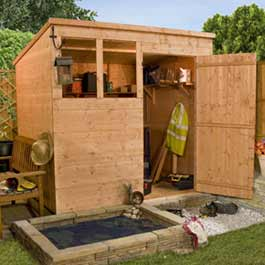 7' x 5' Billyoh Classic T and G Pent Wooden Shed