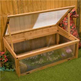 BillyOh Cold Frame 3' x 2' Wooden Greenhouse