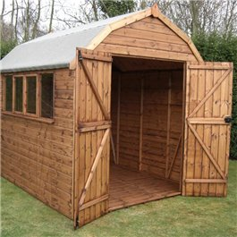 Garden Shed BillyOh Dutch Barn 8' x 8' Wooden Shed