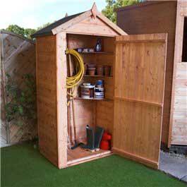 Garden Storage BillyOh Shed Store 3'3 x 2'2 Wooden Storage