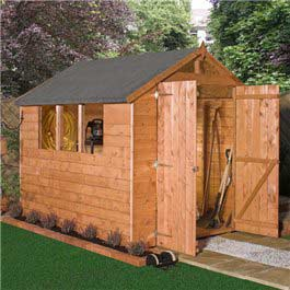 Garden Wooden Shed Billyoh Greenkeeper Apex 12' x 8'