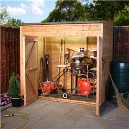 Garden Store Billyoh Hyper Store 7' x 4' Wooden Storage