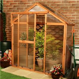 Lincoln Lean-To Greenhouse 2 x 6