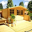 3.0 x 2.5m - BillyOh Pathfinder Lodge Log Cabin