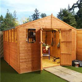 Garden Shed Billyoh Castle Village Hall 10' x 20' Wooden Shed