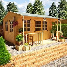 Log Cabin Billyoh Frontier 'Portland' 12' x 12'