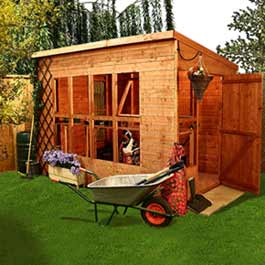Country Plant House Potting Shed Wooden Shed