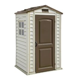 BillyOh ShelterPro 4 x 3 Plastic Shed Inc Floor