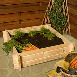 BillyOh Square Interlocking Raised Bed Planters and Grow Bed