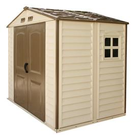 BillyOh StoreAll 6 x 8 Plastic Shed Inc Foundation Kit